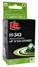 Cartridge UPrint HP C8766EE barevná, No. 343, 19 ml