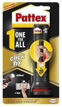 Lepidlo Pattex One For All Click & Fix, 30 g