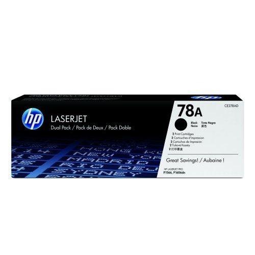 Toner HP CE278AD Dual Pack pro LJ P1566, black
