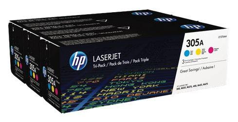 Toner HP 305A tripack CE411A/CE412A/ CE413A pro LJ Pro 300