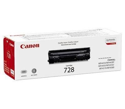 Toner Canon CRG-728BK pro MF4410,4430,4450,4550d, black