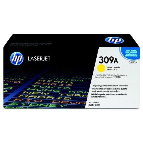 Toner HP Q2672A pro HP Color LaserJet 3500/3550, yellow