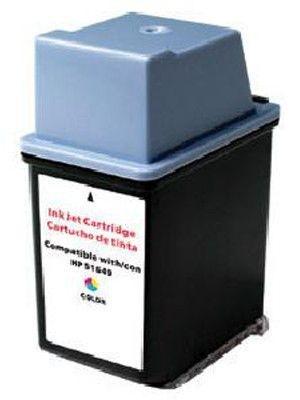 Cartridge MP Print HP 51649A tříbarevná, 350 stran