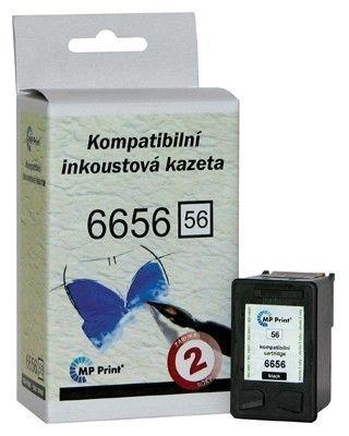 Cartridge MP Print HP C6656A, černá No. 56 (450 stran)