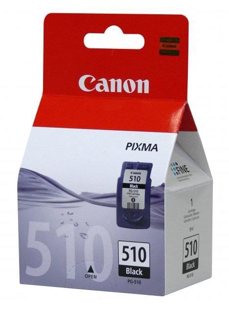Cartridge Canon PG-510 pro MP230/252/280, černá