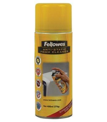 Antistatická čistící pěna ve spreji, Fellowes, 400 ml