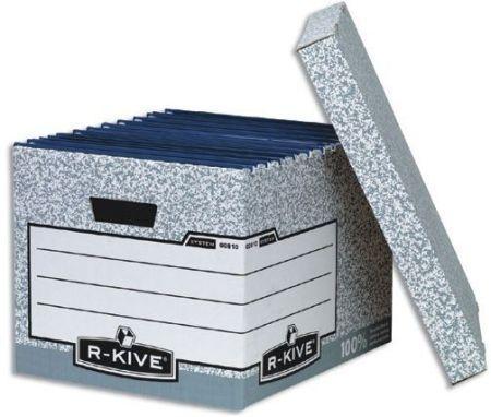 Archivační box R-KIVE systém s víkem, balení 1 ks