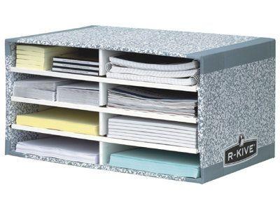 Odkladač na dokumenty R-Kive System, 8 přihrádek
