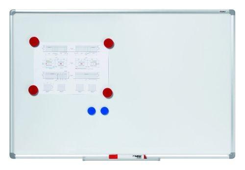 Magnetická bílá tabule Basic Board, 60 × 90 cm