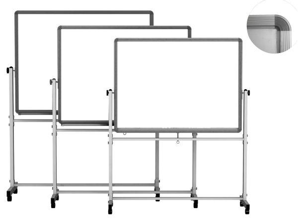 Mobilní tabule Basic magnetická 100 × 200 cm