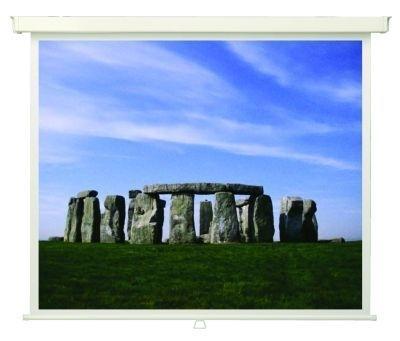 Plátno Rollo Basic Plus pro digitální projekci 200x200