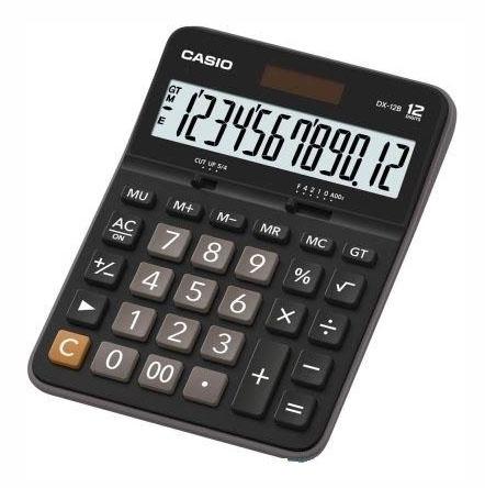 Stolní kalkulačka Casio GX 12 B