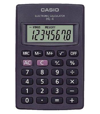 Kalkulačka Casio HL 4