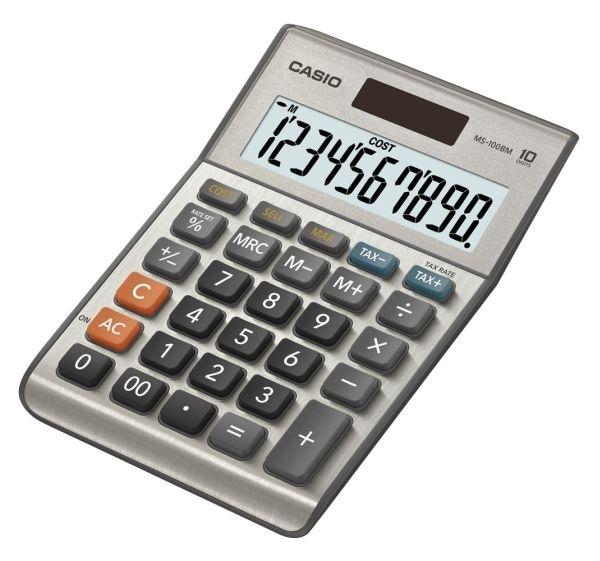 Kalkulačka stolní Casio MS-100BM