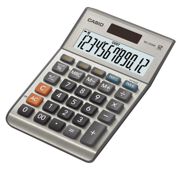 Kalkulačka stolní Casio MS-120BM