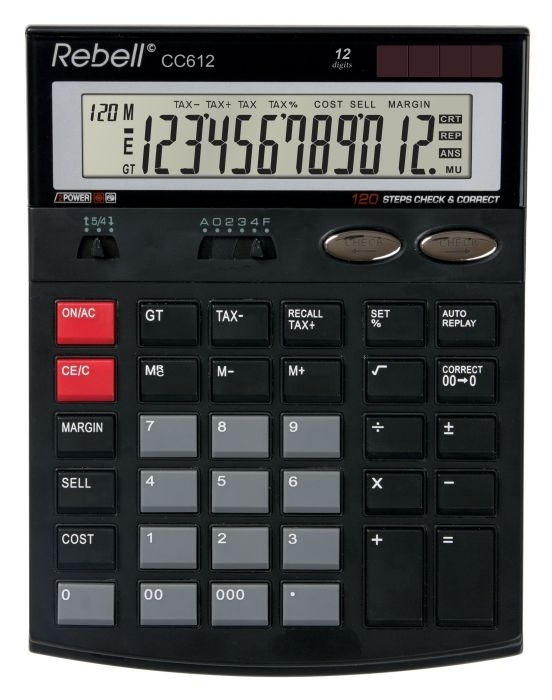 Stolní kalkulačka Rebell CC666