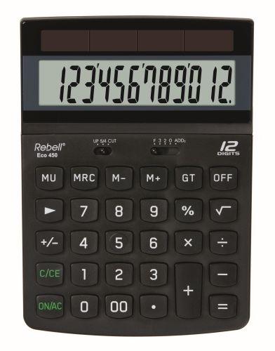 Stolní kalkulačka Rebell ECO450
