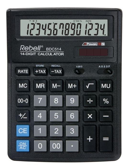 Stolní kalkulačka Rebell SDC554