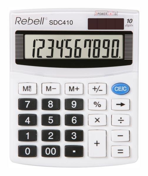 Stolní kalkulačka Rebell SDC410 BX