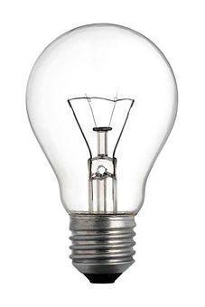 Žárovka E27 60W standard čirá