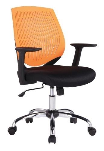 Kancelářská židle Iowa, oranžová