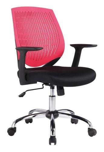 Kancelářská židle Iowa, červená