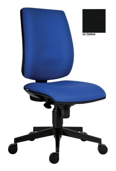 Kancelářská židle 1380 SYN Flute, D2 (černá)