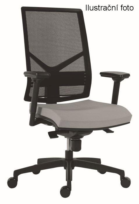 Židle kancelářská 1850 SYN OMNIA, D2 (černá)