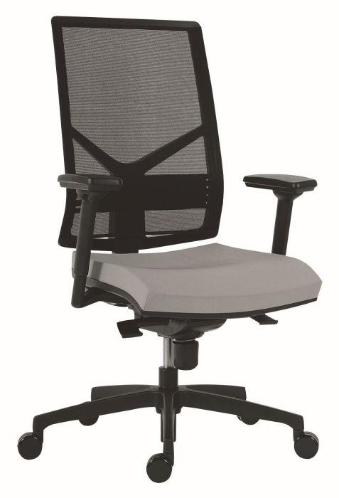 Židle kancelářská 1850 SYN OMNIA, D5 (šedá)