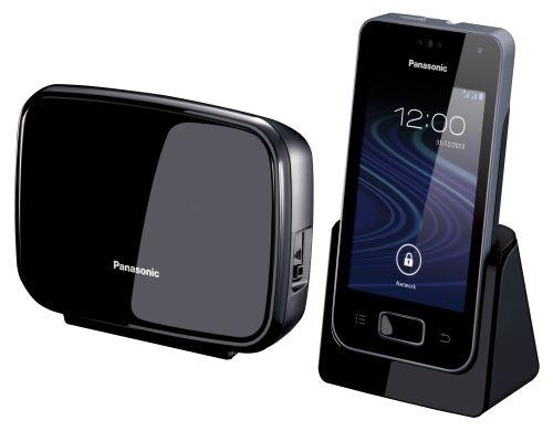 Bezšňůrový telefon Panasonic KX-PRX150FXB, černý