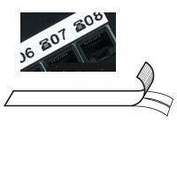 Permanentní vinylová páska 9 mm, bílá (návin 5,5 m)