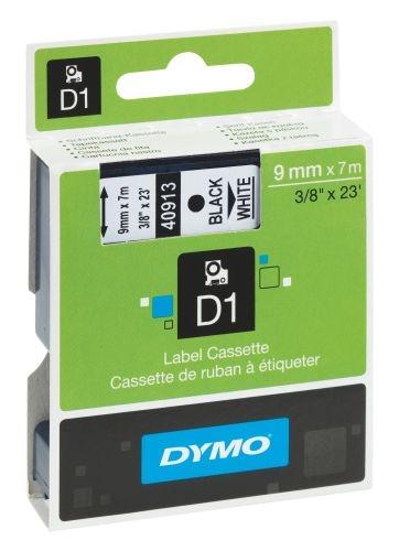 Páska Dymo Pocket 9 mm černá/bílá