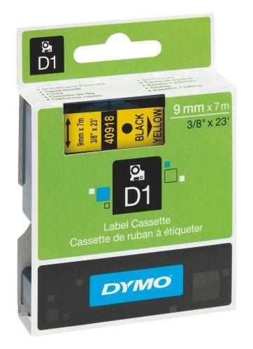 Páska Dymo Pocket 9 mm černá/žlutá