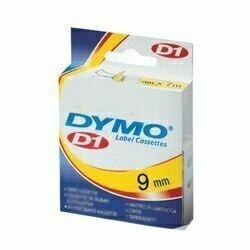 Páska Dymo Pocket 9 mm, černá/ zelená