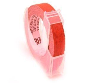 Páska 3D 9 mm × 3 m pro DYMO Omega, červená