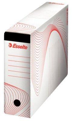 Archivační krabice na závěsné desky, bílá