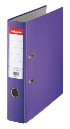 Pákový pořadač Esselte Economy A4 75 mm, fialový