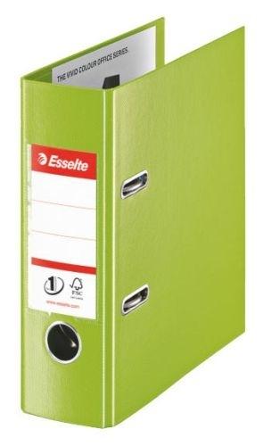 Pořadač pákový No. 1 Power z PVC A5 75 mm VIVIDA, zelený