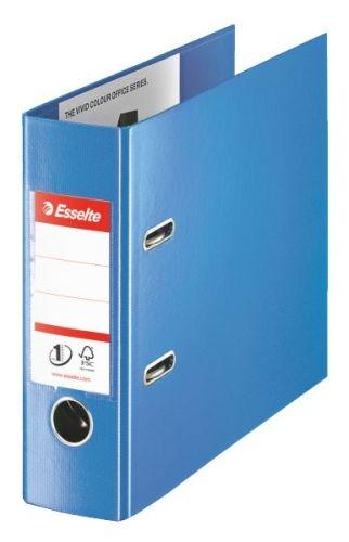 Pákový pořadač A5 PVC, hřbet 75 mm, OBLONG, modrý