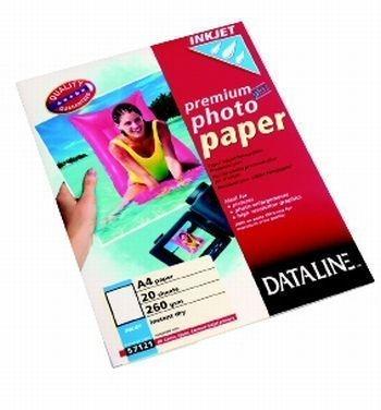 Fotopapír pro inkoustové tiskárny Premium Plus, A4, 260 g, 20 lis