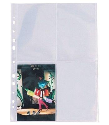 Obal závěsný A4 na foto, 80 mic, čirý (balení 10 ks)