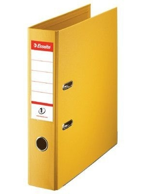 Pořadač pákový Esselte No. 1 Power z PVC A4 75 mm, žlutý