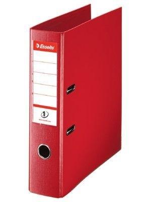 Pořadač pákový Esselte No. 1 Power z PVC A4 75 mm, červený