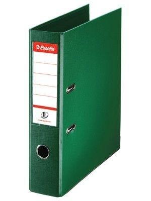 Pořadač pákový Esselte No. 1 Power z PVC A4 75 mm, zelený