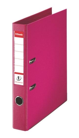 Pořadač pákový Esselte No. 1 Power z PVC A4 50 mm, fuchsiový