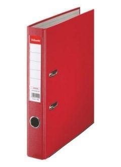 Pákový pořadač Economy, A4, 50 mm, červený