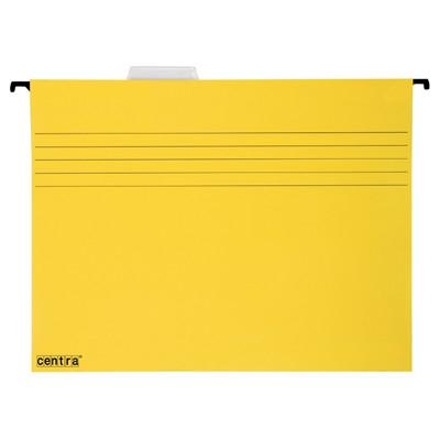 Závěsná složka Centra, žlutá, balení 25 ks