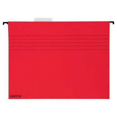 Závěsná složka Centra, červená, balení 25 ks