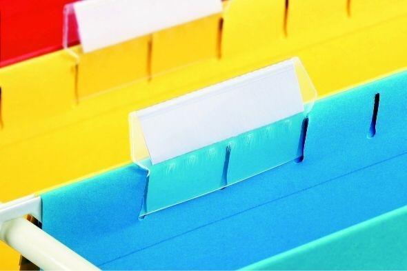 Plastový rozlišovač s papírovým štítkem, náhradní, 25 ks