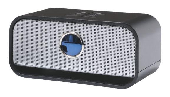 Přenosný reproduktor bluetooth stereo Leitz Complete, černý